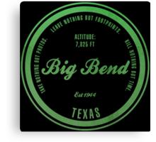 Big Bend National Park, Texas Canvas Print