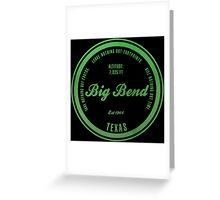 Big Bend National Park, Texas Greeting Card