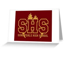 Sunnydale Highschool Greeting Card