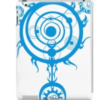 Blue Magic Circle iPad Case/Skin