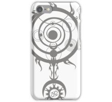 Grey Magic Circle iPhone Case/Skin