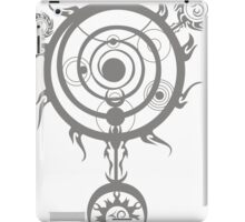 Grey Magic Circle iPad Case/Skin