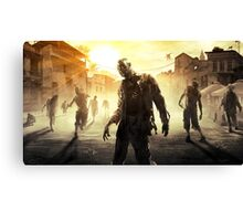 DYING LIGHT ZOMBIES Canvas Print