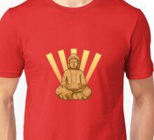 Buddha sun gold Unisex T-Shirt