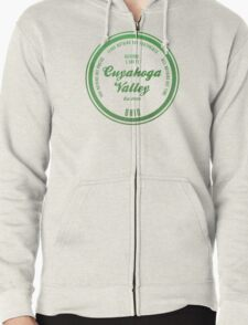 Cuyahoga Valley National Park, Ohio Zipped Hoodie