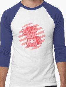 Pink Vulpix Men's Baseball ¾ T-Shirt
