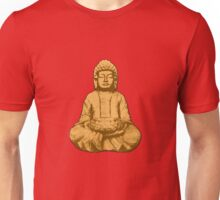 Buddha gold Unisex T-Shirt