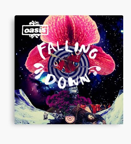 OASIS FALLING DOWN Canvas Print