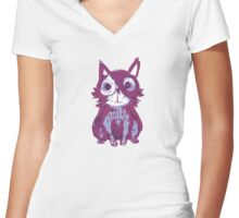 Tail-.- Women's Fitted V-Neck T-Shirt
