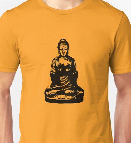 Buddha Figur black Unisex T-Shirt
