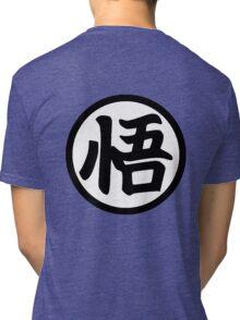 Son Goku Logo Tri-blend T-Shirt