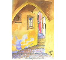 Sintra alley Photographic Print
