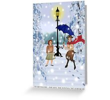 The Lion, The Witch & the Wardrobe Greeting Card