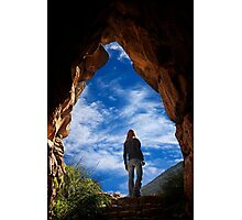 Coming out of the tunnel - Ancient Mycenae Photographic Print