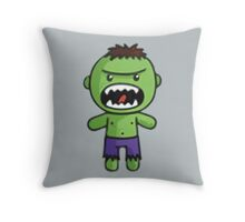 The Incredible Hulk Throw Pillow