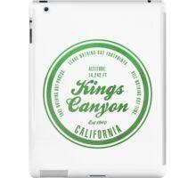 Kings Canyon National Park, California iPad Case/Skin
