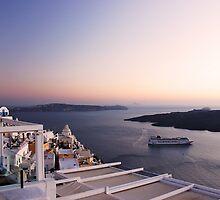 Santorini by George Grimekis