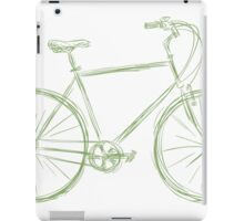 Simple bike iPad Case/Skin