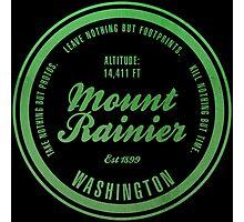 Mount Rainier National Park, Washington Photographic Print