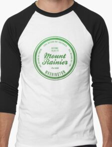 Mount Rainier National Park, Washington Men's Baseball ¾ T-Shirt