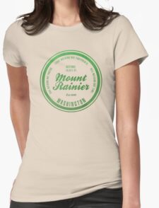 Mount Rainier National Park, Washington Womens Fitted T-Shirt