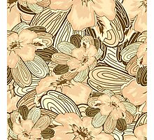 Floral Ornamental Pattern Photographic Print