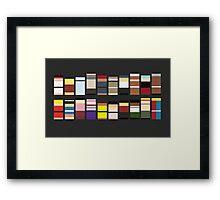 SF3 Framed Print