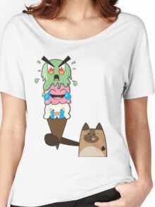 Kitty-Scream Women's Relaxed Fit T-Shirt