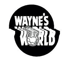 "WAYNE""S GLITCH 2 Photographic Print"