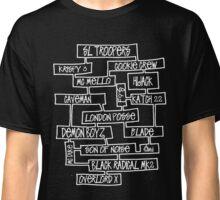 UK Hip Hop Golden Era - Hijack-London Posse [wht] Classic T-Shirt