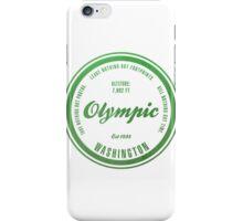 Olympic National Park, Washington iPhone Case/Skin