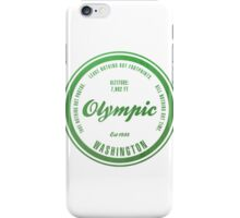 Olympic National Park, Washington iPhone Case/Skin
