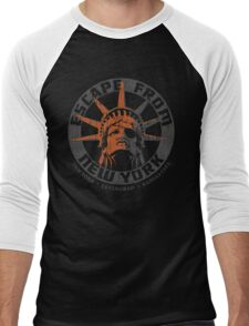 Escape from New York Snake Plissken Men's Baseball ¾ T-Shirt