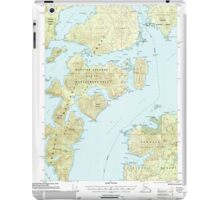 USGS TOPO Map Alaska AK Craig B-5 355274 2000 63360 iPad Case/Skin