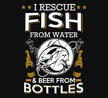 Beer - I Rescue Fish Unisex T-Shirt
