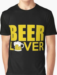 Beer - Lover Graphic T-Shirt