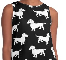Dachshunds Contrast Tank