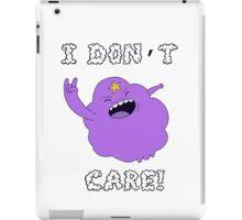 I DONT CARE! iPad Case/Skin