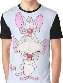 Pinky and The Brain Graphic T-Shirt
