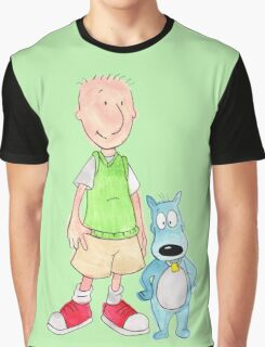 Doug and Porkchop Graphic T-Shirt