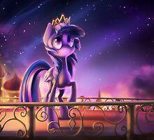 Princess Twilight Sparkle by Dawnfire