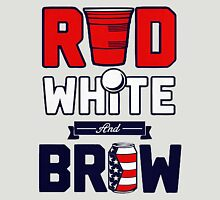 RED-WHITE-BREW Unisex T-Shirt