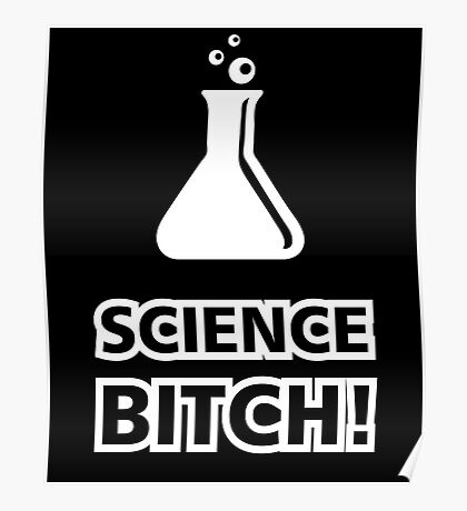 Science Bitch Funny Poster