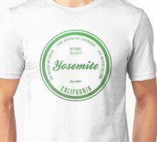 Yosemite National Park, California Unisex T-Shirt