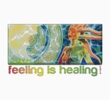 feeling is healing! (ureka.org) Kids Tee