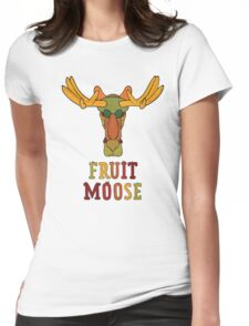 Fruit Moose Womens Fitted T-Shirt