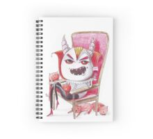 Typical  ginger cats' owner Spiral Notebook