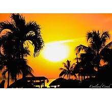 Jamaica Sunset Photographic Print