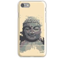 Cool Grey Buddha/Buddhist iPhone Case/Skin
