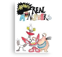 Real Monsters! Canvas Print